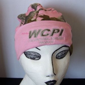Real Tree Beanie lined hunting cap camouflage pink